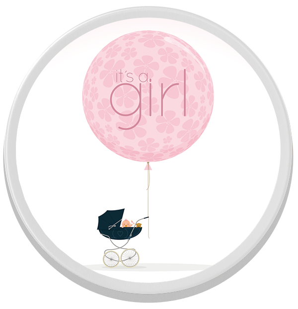 "Individuelle Bonbondose ""It's a Girl"""