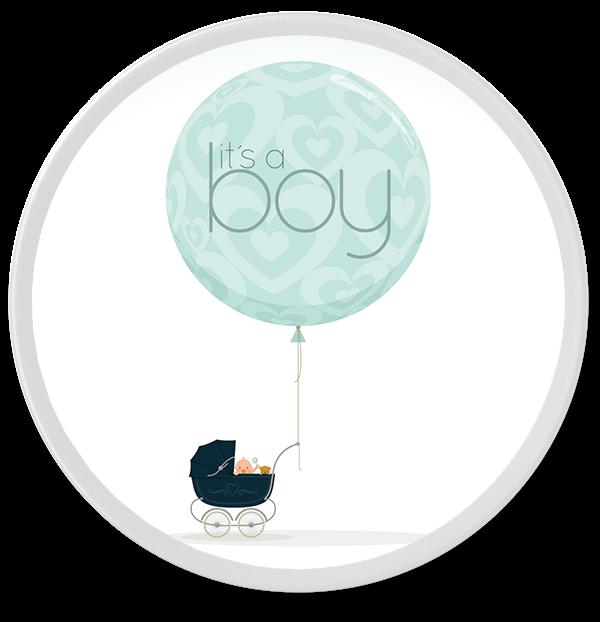 "Individuelle Bonbondose ""It's a Boy"""