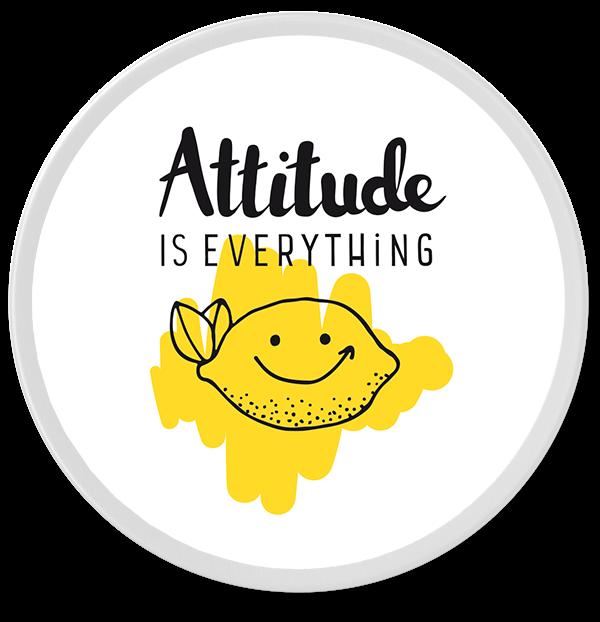 "Individuelle Bonbondose ""Attitude"""